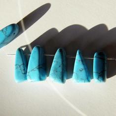 Turquoise nuggets /STEN-hänge 15-20mm