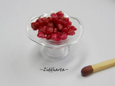 "Dockskåp, miniatyrer: 5gram Godis /Röda Karameller: ""Hallon"" - till Dockskåp, miniatyrer"