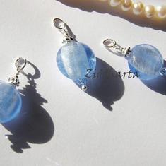 1 Hänge: Himmelsblått m Lt Sapphire Swarovski Crystal