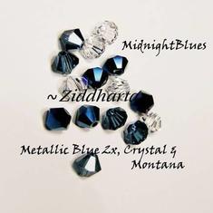Swarovski Crystals 15st - MidnightBlues