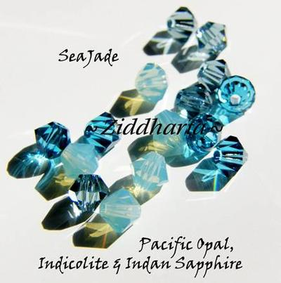Swarovski Crystals 15st - SeaJade