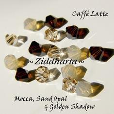 Swarovski Crystals 15st - Caffé Latte