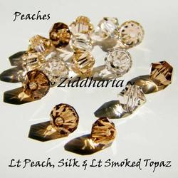 Swarovski Crystals 15st - PEACHES