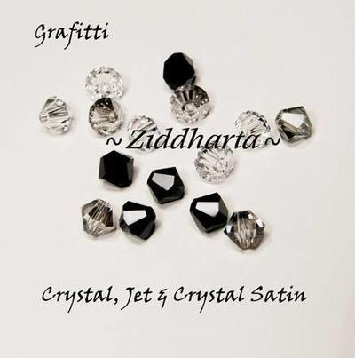 Swarovski Crystals 15st - Grafitti