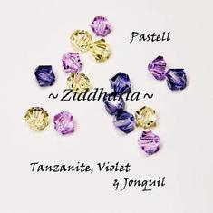 Swarovski Crystals 15st - Pastell