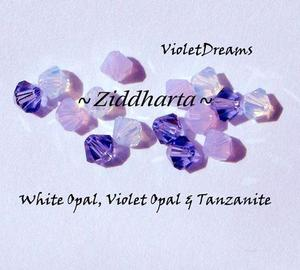 Swarovski Crystals 15st - VioletDreams