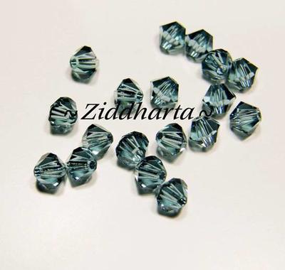 Swarovski Bicone 4mm Crystals - Indian Sapphire - 8st