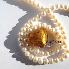 SF Hjärta ca20mm - Antique GOLD
