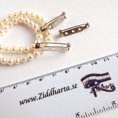 TP Brosch-nål - Pärla eller dekorera din egen Brosch - Safety Pin