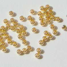 1,5mm GP Klämpärlor - 100st