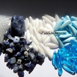 REA - utförsäljning: Sodalite /Turkos! Kit Pärlor & Halvädelsten