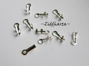 10 SP Hållare /Ändavslut till smyckestråd: Micro 7x2mm