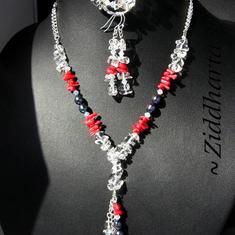Unika och personliga smycken: Halsband, armband, örhängen: LoveRed - Valentine Day - Alla Hjärtans dag set - handgjort av Ziddharta i Sverige
