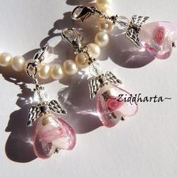 SF ROSA: Ängla-hänge smyckestillverknings-KIT