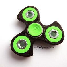Coolaste Spinnern! Bästaste leksaken & presenten! Spinner - Neon Grön