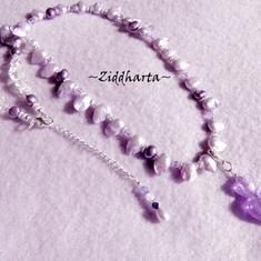 LYXIGT: Halsband - LavendelaHeart