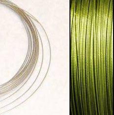 2,2m Kraftigare Wire 0,45mm: Olivine