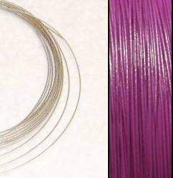 2,2m Kraftig Wire 0,45mm: Magenta