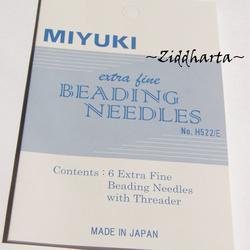 Miyuki nålar och nålpåträdare - Hög kvalitet! Pärlnålar