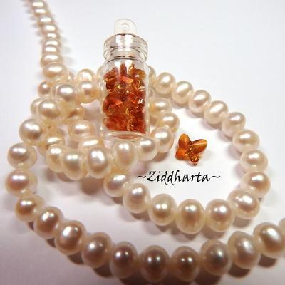 1st Miniatyr Glasburk Amuletter /Glasflaska