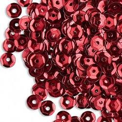 1 GÅVA per order: 1 fp ca 250-300 st JUL Alla Hjärtans Dag Valentine Love: RÖDA Paljetter
