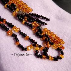 SÅLD! Assymetriskt 3-color Amber - AmberTiger