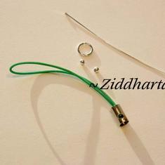 1st Mobilsnodd + Tillbehör: Emerald