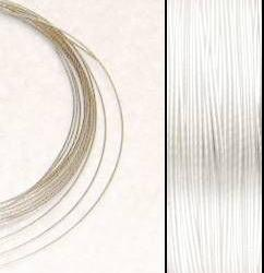 2,2m Wire 0,36mm: PÄRLEMO + 20 SP crimpbeads - HQ!