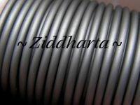 60cm Gummislang SILVER 3mm diam - går EJ att trä på wire