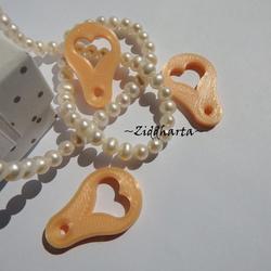 3st Varuvagns-poletter - Mynt-hjärtat till kundvagnen: #21 Silk Peach