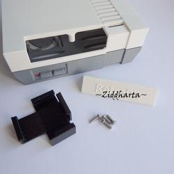 Nintendo låda - Retro Chassi till elektronik: 3D Printed Nintendo Raspberry Pi Case. Retro Video Games Console