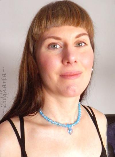 """#34 Two necklaces in One """"AquaBlue Sarovski Heart"""" Necklace Sky Blue Necklace Swarovski Heart Necklace - Handmade Jewelry by Ziddharta"""