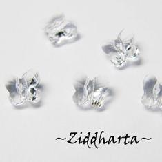 Swarovski 5mm Fjäril - Crystal