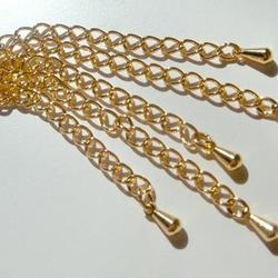 6 cm GP Förlängningskedjor med liten droppe - 5st