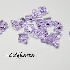Swarovski 5mm Fjäril - Violet