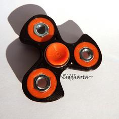 Coolaste Spinnern! Bästaste leksaken & presenten! Spinner - ORANGE