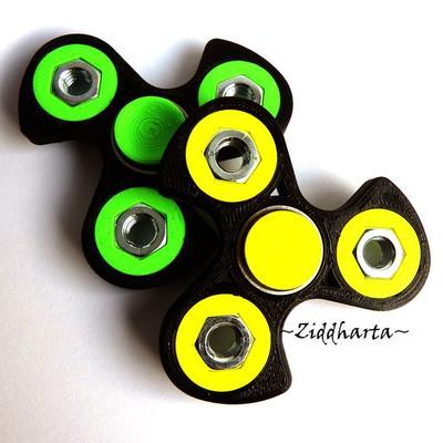 Coolaste Spinnern! Bästaste leksaken & presenten! Spinner - ORANGE