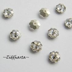 Swarovski 6mm Marguerite - Crystal SilverFoil back