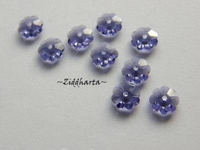 Swarovski 6mm Marguerite - Tanzanite