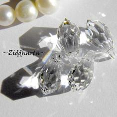 Swarovski 11x5,5mm Teardrop hänge: Crystal