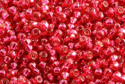 10gram Miyuki Seed Beads 11/0 - #1433 Dk Rose SL - ca 1000 pärlor
