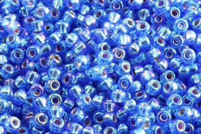 10gram Miyuki Seed Beads 11/0 - #1019 Sapphire Iris SL - ca 1000 pärlor