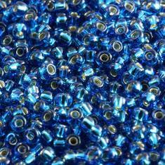 10gram Miyuki Seed Beads 11/0 - #25 Capri Blue SL - ca 1000 pärlor
