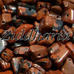 10gr Mahogny Obsidian chips