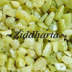 10gr OlivineLime Jade chips