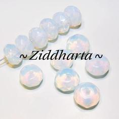 1st Blue Opalite Facetterad Rondell 8x5mm