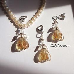 1 Ängla-hänge: Guldsand Golden GS Ängel - Angels Handmade by Ziddharta
