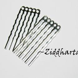 1 par SP Comb  /Hårkam: 5 hål för hårsmycken / Pärlor