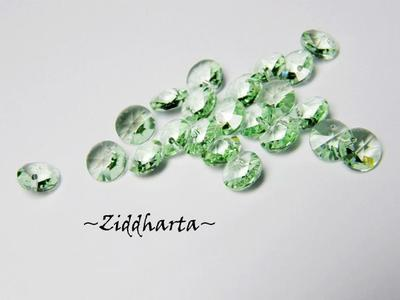 4st Swarovski 6mm Rivoli - Chrysolite